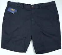 NWT $85 Polo Ralph Lauren Classic Fit Chino Shorts Mens 44B 50B NEW Navy Cotton