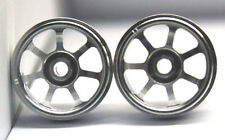 CB DESIGN CBD 0955 LMP SILVER ALUMINUM WHEELS 17x11 - NEW 1/32 SLOT CAR PARTS