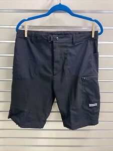 """Cannondale Mens Cycling Shorts  Casual Baggy Buckle Strap Size M Waist 32"""""""
