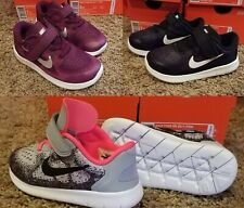 Girl's Nike FREE RN 2017 (TDV) Toddler Infant Running Shoe 904261 001 Size 9-10