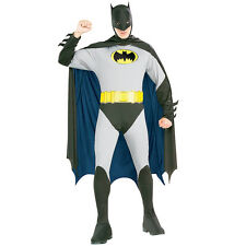 Brand new Costume Batman Hero Outfit Adult Men Fancy Dress Party  D2007A