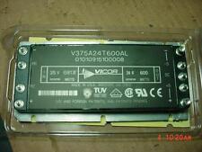 VICOR V375A24T600AL DC-DC CONVERTER MODULE 250-400VDC  IN 24VDC OUT 600WATT