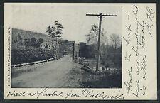 NY Mt. Pleasant LITHO 1905 STATE ROAD & BRIDGE Catskill Mts  by Koehler No.16