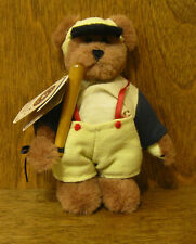 Boyds Plush Ornaments #56301 Brady Swingenamiss, Baseball, New From Retail Store