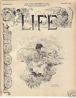 1903 Life September 10- Root Resigns, Taft Takes over