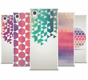 GEOMETRIC COLOURFUL COLLECTION MOBILE PHONE CASE COVER FOR SONY XPERIA XA1 ULTRA