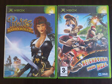 Lot Jeux Xbox - Complet VF TBE : Neighbours From Hell + Pirates Kat La Rouge