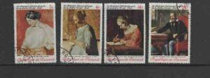 BURUNDI #292-295 1969 INTERNATIONAL WRITING WEEK MINT VF LH O.G CTO b