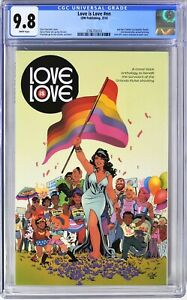 S023. LOVE IS LOVE #nn IDW CGC 9.8 NM/MT 1st OFFICIAL Comic App. of HARRY POTTER