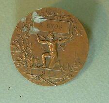 Médaille BRONZE de H Dubois, enseignement coupe et lingerie…