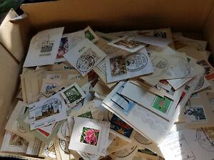 BRD   Megalot gestempelte Briefstücke