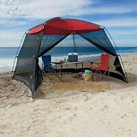10 x 10 Ft Outdoor Screen House Beach Tent Camping Shelter Gazebo Shade Canopy
