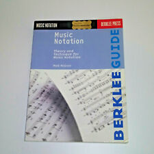 Music Notation Berklee Guide Mark McGrain Theory and Technique Hal Leonard score