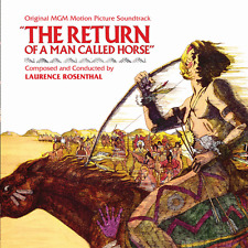 Return Of A Man Called Horse - 2 x CD Complete - OOP - Laurence Rosenthal