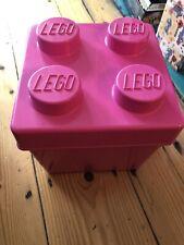 LEGO Juniors 10668 SQUARED PINK BRICK STORAGE BOX