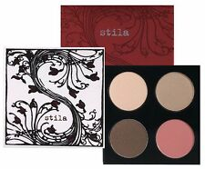 Stila Blanc Eye Shadows & Cheek Color Palette (3-Eye Shadows & 1-Cheek Color)