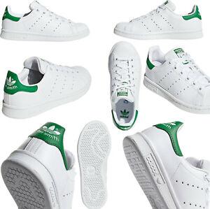 Adidas Stan Smith Unisex Sneaker Turnschuhe Weiß Grün Gr. 36- 45 Neu