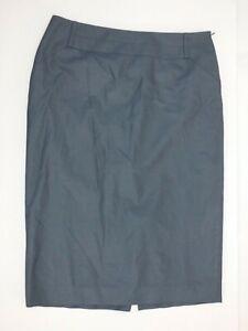 REISS Dark Grey Tailored Pencil Skirt Smart Elegant Lined UK  10 US 6