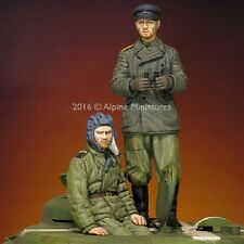 ALPINE MINIATURES 35216 WWII Russian Tank Crew Set (2 Figuren) in 1:35
