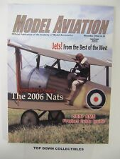 Model Aviation Magazine    November  2006    William Thomson Sopwith Pup, Cover