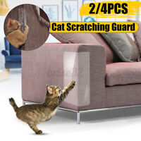 2/4PCS Cat Couch Protect Scratch Guard Furniture Sofa Corner Protector