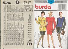 out-of-print:  burda 4717,  Kostüm,  Gr. 38 - 40 (42), sizes 10-12-14