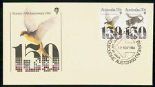 Mayfairstamps Australia Fdc 1984 Wildlife Victoria 150 Anniv Combo Wildlife Firs