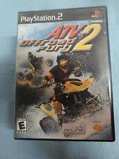 PLAYSTATION 2 ATV OFF ROAD FURY 2 VIDEO GAME *BW-A3