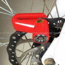 Red  bike cycle Disc Lock for MTB Road Bike  Disc Brake Security Lock