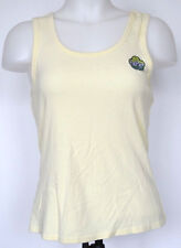 Lucky Brand Pale Yellow Racer-back Tank Top L