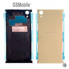Tapa Trasera Antena NFC Back Battery Cover Gold Sony Xperia XA1 Plus Original