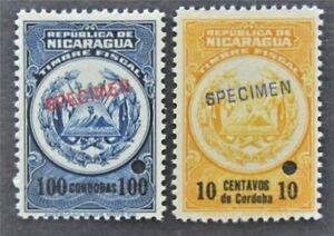 nystamps Nicaragua Stamp Mint OG H Specimen   L30y918