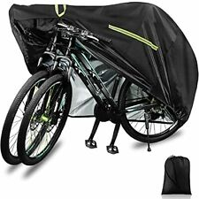 New listing Bike Covers Outdoor Storage Waterproof, 210D-XXL for 2 or 3 Bikes, Bicycle Cover