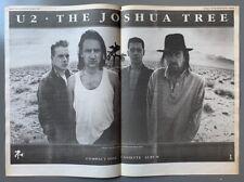 U2 original 1987 Poster Advert The Joshua Tree