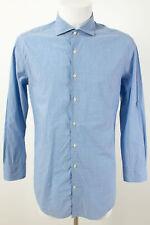 RENE LEZARD Hemd Gr. 41 Gestreift 100% Baumwolle klassisches Business Hemd Shirt