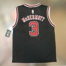 Chicago Bulls Youth adidas Doug McDermott #3 NBA Replica Jersey - Black