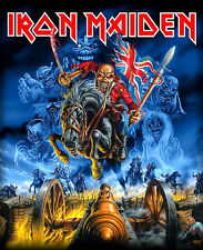 """3"""" Iron Maiden England 88' STICKER. Eddie, the Trooper, Number of the Beast Live"""