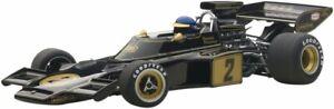 87330 AUTOart 1:18 Lotus 72E 1973 #2 Ronnie Peterson With Driver Figure Japan