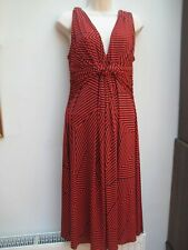 Gorgeous Red/Navy Phase Eight fit and flare midi dress 16