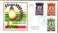 S43/45+ FDC    ENVELOPPE  1er JOUR  CEF UNESCO