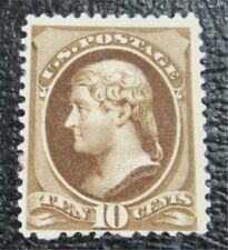 nystamps US Stamp # 209 Mint OG H $160