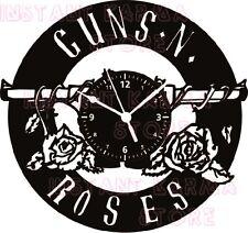 OROLOGIO DA PARETE ARTIGIANALE - DISCO VINILE - GUNS N' ROSES