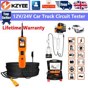 Kzyee Car/Truck 12V&24V PowerScan Circuit Tester Electrical Power Probe AVOmeter