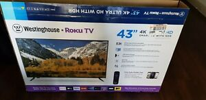 4k tv 43in Ultra HD smart tv with HDR 3 HDMI ports one optical port