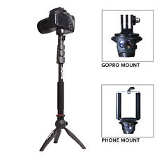 "MaximalPower™ 39"" Monopod + mini tripod Selfie Stick 3-in-one for GoPro"