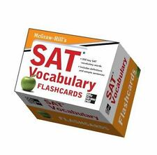 McGraw-Hill's SAT Vocabulary Flashcards by Mark Anestis and Christopher Black...