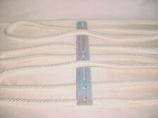 13Y D'KEI C1131 METALLIC WHITE DOUBLE LIP CORD DRAPERY UPHOLSTERY TRIM