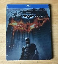 THE DARK KNIGHT BLU-RAY STEELBOOK - NEW FACTORY SEALED