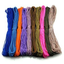 50-100ft One Stand 2mm Paracord Parachute Cord Tent Lanyard Rope 25 Colors 308 as The Pic 50 Feet