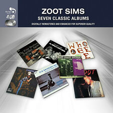 Zoot Sims - Seven Classic Albums 4xCD NEW SEALED
